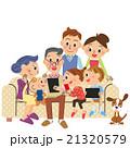 三世代家族が携帯とタブレットで検索 21320579