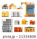 アイコン セット 工事のイラスト 21334806