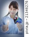タッチパネル操作、指紋認証のイメージ 21346276