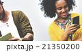 コミュニケーション 交流 通信の写真 21350200
