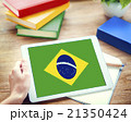 Brazil National Flag Business Communication Connection Concept 21350424