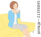 紅茶を飲む女性02 21356845