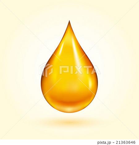 Golden Oil Drop 21363646