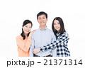 家族 ポートレート 笑顔の写真 21371314
