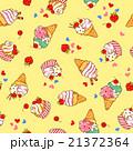 食べ物 アイスクリーム スイーツのイラスト 21372364