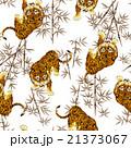 日本的な虎パターン 21373067