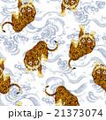 日本的な虎パターン 21373074