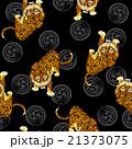 日本的な虎パターン 21373075
