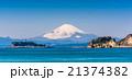 富士山と湘南海岸 21374382