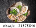 はまぐりの潮汁  Seafood soup with salt of the clam 21375640