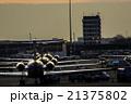 飛行機 旅客機 国際空港の写真 21375802