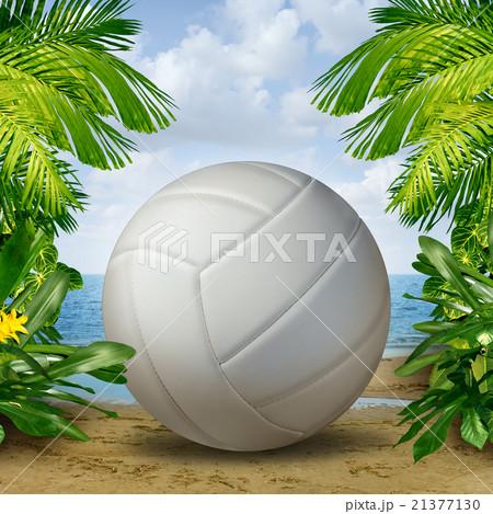 Beach Volleyballのイラスト素材 [21377130] - PIXTA