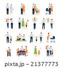職業 セット 組み合わせのイラスト 21377773