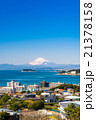 富士山と湘南海岸 21378158