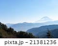 山の向こうの富士山 21381236