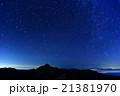 北アルプス・燕岳と北天の夜空 21381970