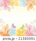 ハイビスカス 背景 花のイラスト 21383091