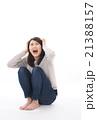 泣き叫ぶ女性 21388157