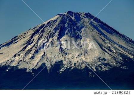 御坂山地・王岳から見る富士山山頂 21390822