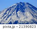 御坂山地・王岳から見る富士山山頂 21390823