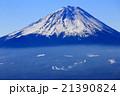 御坂山地・王岳から見る富士山 21390824
