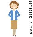 人物 ポーズ 女性のイラスト 21393146
