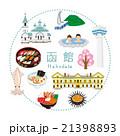 函館 アイコン 観光のイラスト 21398893