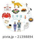 北海道 観光 アイコンセット 21398894