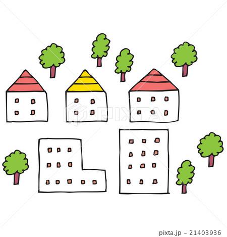 街と木 21403936