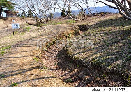 朝日山のフランス式塹壕:新潟県小千谷市 21410574