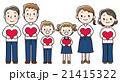家族 人物 ベクターのイラスト 21415322