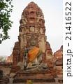 タイアユタヤワットプラマハタート仏塔と仏像 21416522