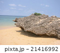 沖縄石垣島サンセットビーチ巨岩 21416992