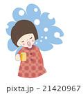 女の子 風邪予防 21420967