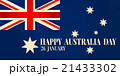 Greeting card Happy Australia Day.  21433302