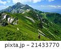 北アルプス・抜戸岳から望む笠ヶ岳 21433770