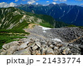 笠ヶ岳山荘付近から見る抜戸岳稜線と槍・穂高連峰 21433774