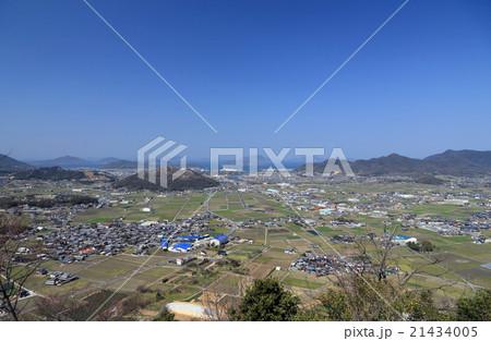 香川県三豊市、三野津湾と高瀬川下流域、瀬戸内の島々 21434005
