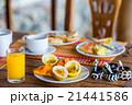ブレックファースト 朝ごはん 朝食の写真 21441586