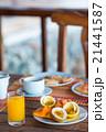 ブレックファースト 朝ごはん 朝食の写真 21441587