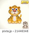 Cartoon Leopard. Vector Character 21446348