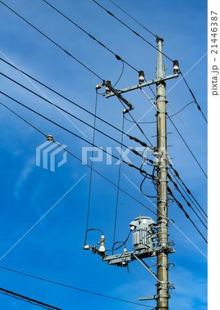 電柱 21446387
