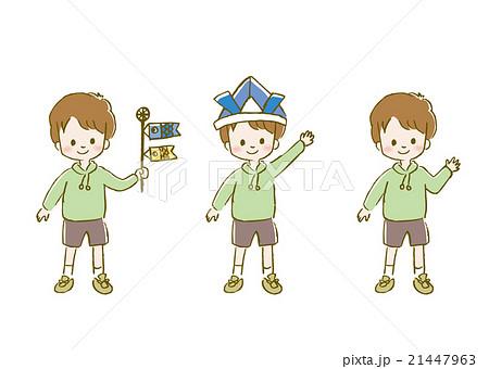 子どもの日 可愛い イラスト 男の子のイラスト素材 21447963 Pixta