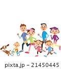 三世代家族でランニング 21450445