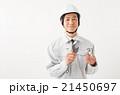 男性 作業員 蛇口の写真 21450697
