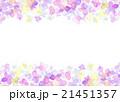 水彩 あじさい フレーム 21451357
