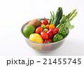 野菜 食材 ザルの写真 21455745
