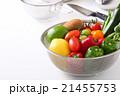 野菜 食材 ザルの写真 21455753