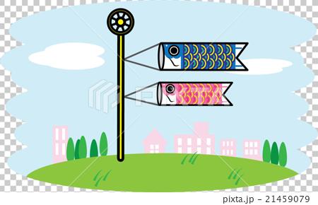 儿童节 飘扬的旗幡 天空 21459079