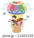 家族 気球 21465239